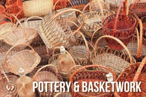 Pottery basketwork
