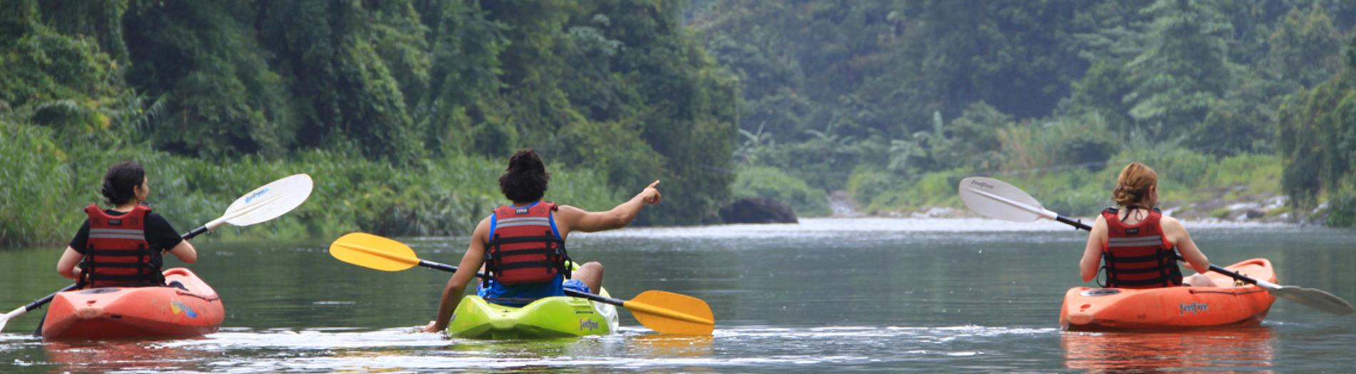 Canoeing _ Kayaking Kithulgala